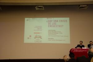 Mesa 1: ¿Hay una crisis de las encuestas?