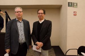 Darrell Bricker (IPSOS) y Federico Estévez (ITAM)