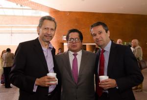 Marcelo Ortega (Consulta Mitofsky) y Andrés Levy (Covarrubias y Asociados)