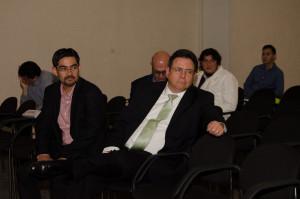 René Bautista (NORC) y Lauro Mercado (Mercaei)